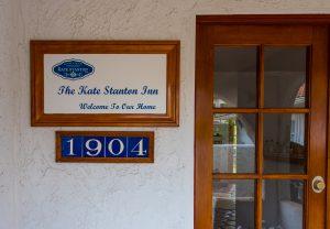 Front door of The Kate Stanton Inn - Kate Stanton BB Encinitas, CA