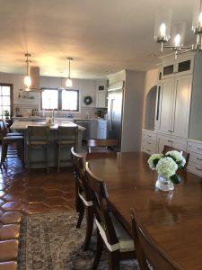 Kate Stanton Inn Kitchen and table