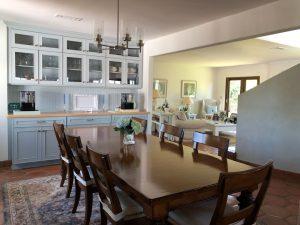 Kate Stanton Inn Kitchen and table setup