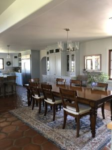 Kate Stanton Inn Kitchen dining tables